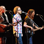 Thu, 21/06/2018 - 9:52pm - Aimee Mann and her band (including Jonathan Coulton) play in Prospect Park, Brooklyn, 6/21/18. Broadcast live on WFUV Public Radio. Photo by Gus Philippas/WFUV