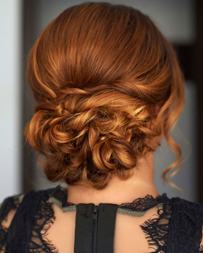 Latest Wedding Hairstyles for Thin Hair -Get an attractive view! 3