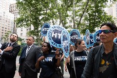 Hotel Trades union shows up for public employee unions