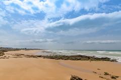 Strand von El palmar Spanien