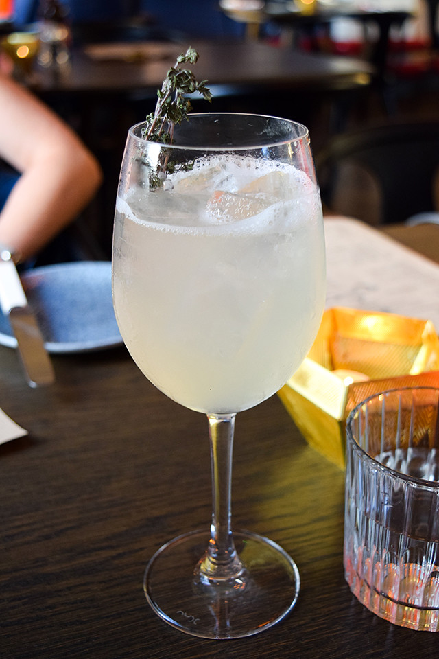 Mocktails at The Parade Room at The Pound, Canterbury #mocktail #canterbury