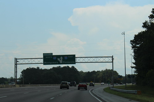 Alabama I10eb Exit 20 ahead