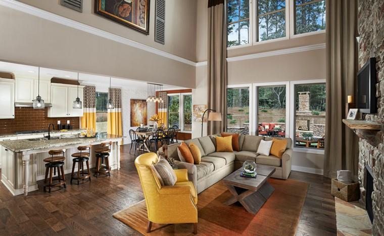 Cucine aperte sul soggiorno - idee di design e decorazione ...