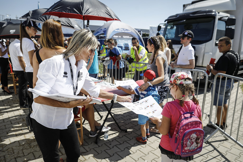 autograph session during the 2018 FIA WTCR World Touring Car cup race of Slovakia at Slovakia Ring, from july 13 to 15 - Photo François Flamand / DPPI.