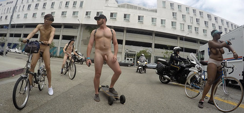 L.A. World Naked Bike Ride 2018 (134759)