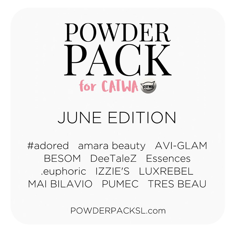 Powder Pack Catwa June 2018 Edition