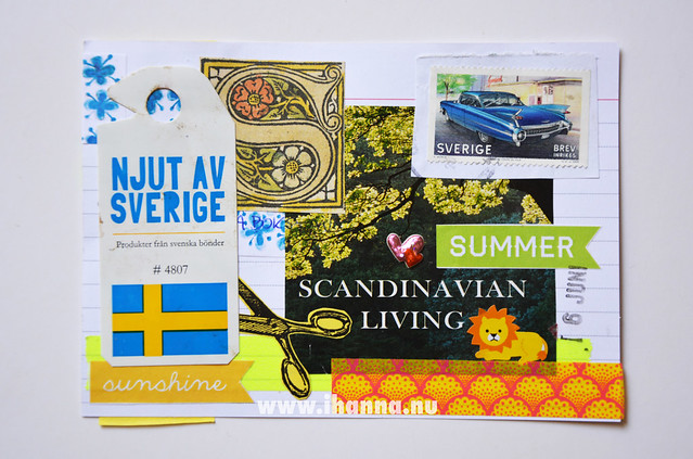 Index Card Collage 6 June 2018 by iHanna aka Hanna Andersson #ihannasICAD #dyICAD2018
