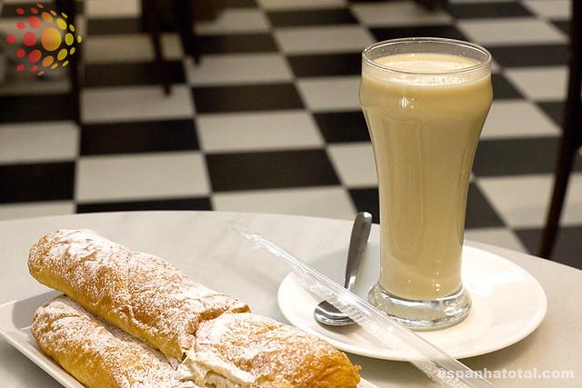 bebidas típicas de Madri: horchata