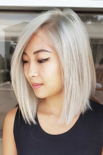 The Most Common Medium Haircuts In Women -Choose One 2