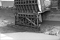 Scott St Bridge Wincolmlee  Monochrome