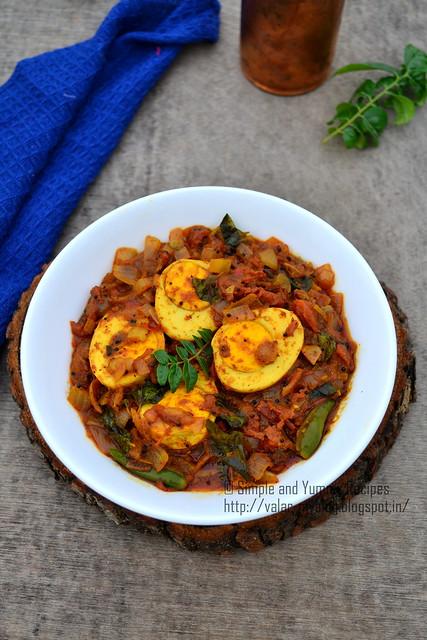 Kerala style Egg Roast