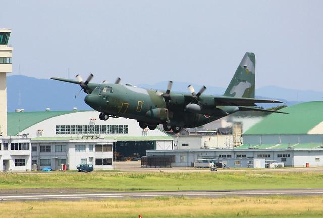 航空自衛隊 第1輸送航空隊 第401飛行隊 C-130H 75-1075 IMG_7779_2
