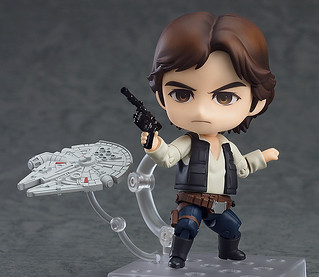 GOOD SMILE COMPANY – Star Wars Episode IV: A New Hope Nendoroid Han Solo