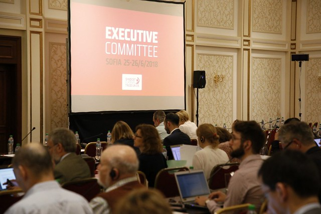 ETUC in Sofia: Executive Committee & #WageAlliance