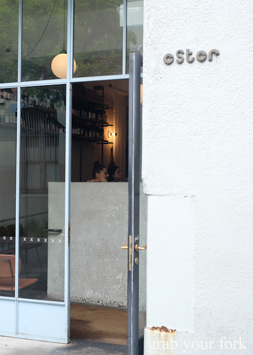 Entrance to Ester in Chippendale, Sydney
