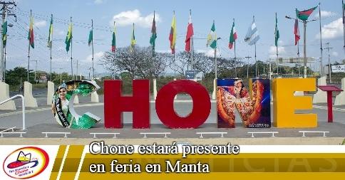 Chone estará presente en feria en Manta