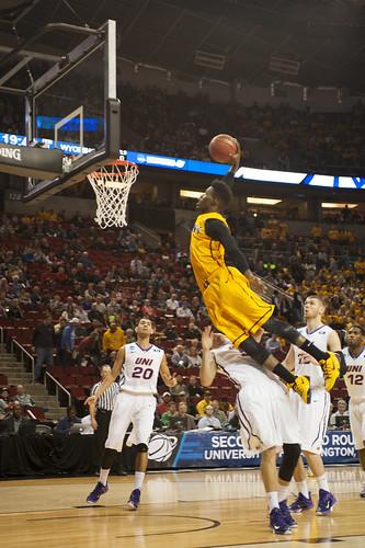 Despite late introduction to basketball, Derek Cooke Jr  is