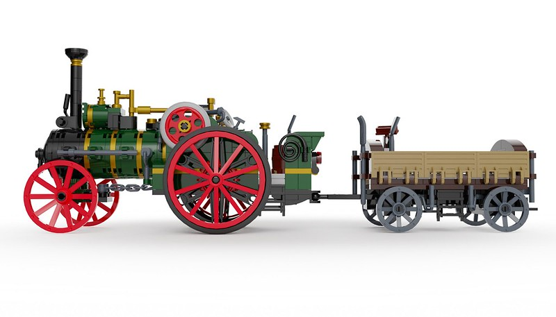 Traction Engine 15 - Lego Ideas