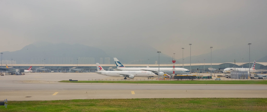 Airliners at HKIA
