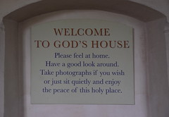 Welcome to God's House
