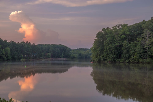 collins hill gwinnett gwinnettcounty metroatlanta atlanta georgia ga lake reflection sunset