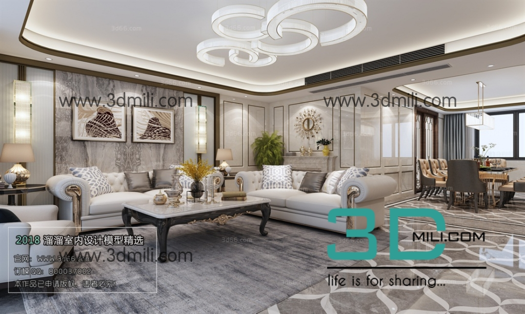 31 Mix Style Living Room 3ds Max File Free Download 3d - free download 3d models 3d max