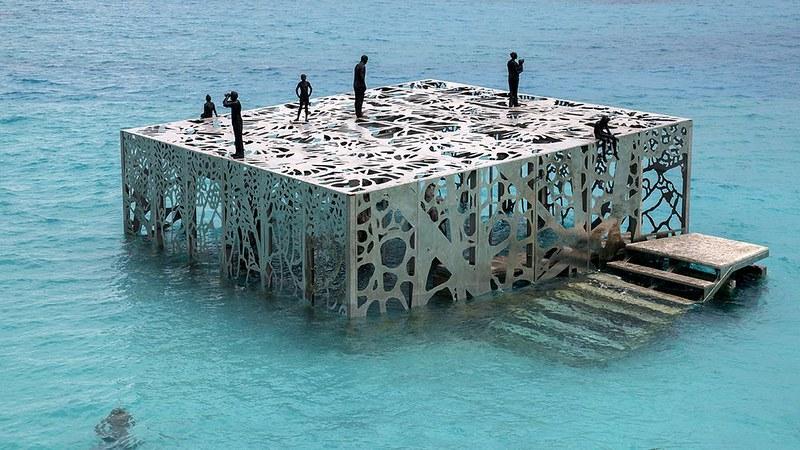 Jason deCaires Taylor Maldivas