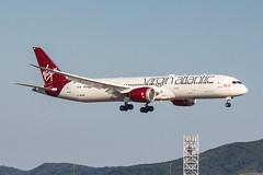 Virgin Atlantic B787-9 DREAMLINER G-VFAN 005