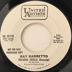 RAY BARRETTO:HAWAII(LABEL SIDE-B)