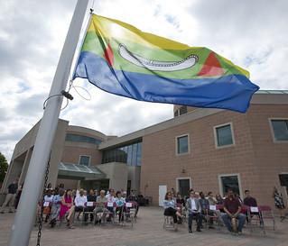 Markham Indigenous Flag Raising