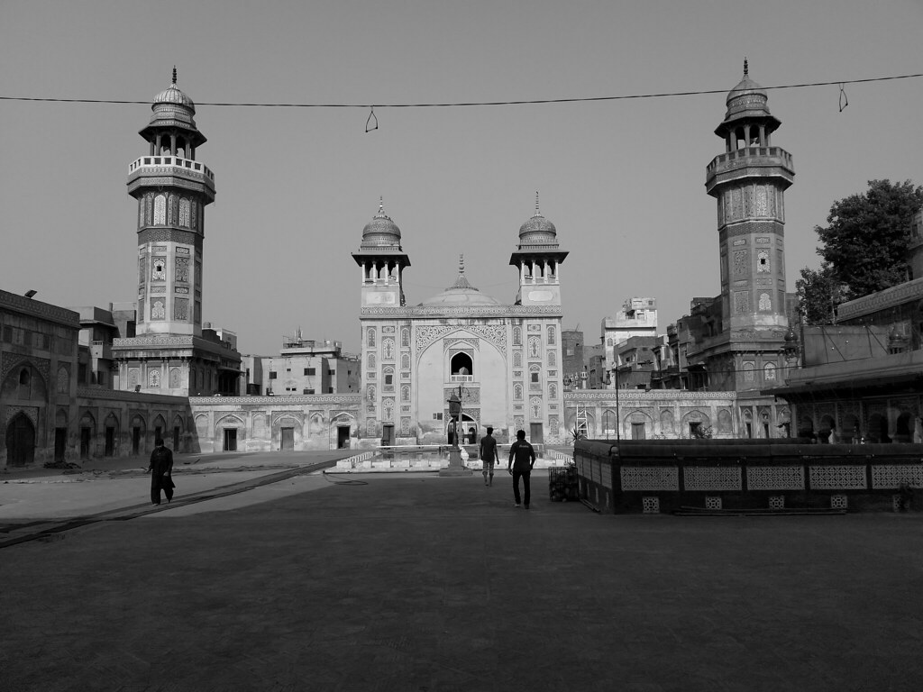 Beautiful shot of Wazir Khan mosque