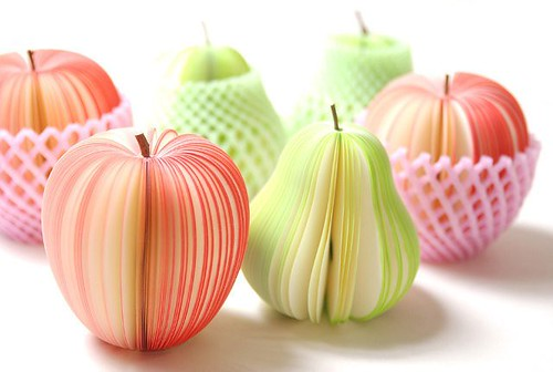 Apple and Pear Note Pads