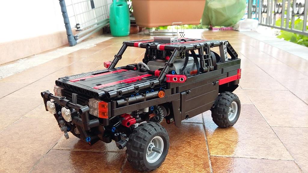 Lego Rc Fiat Panda 4x4 Lego Technic And Model Team Eurobricks Forums