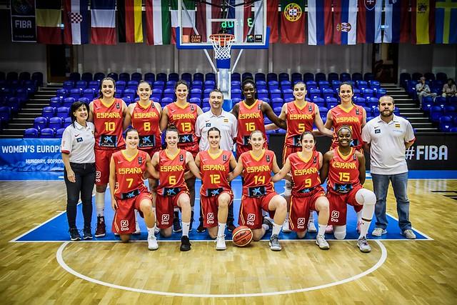 Europeo U20 Femenino Hungría 2018