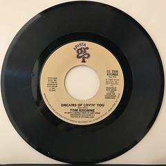 TOM BROWNE:FUNKIN' FOR JAMAICA(N.Y.)(RECORD SIDE-B)