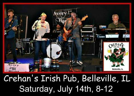 Avery Hill Band 7-14-18