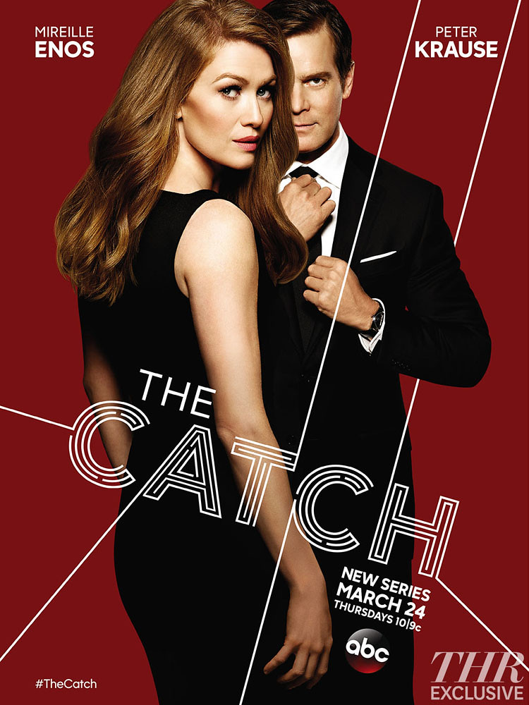 poster serie the catch