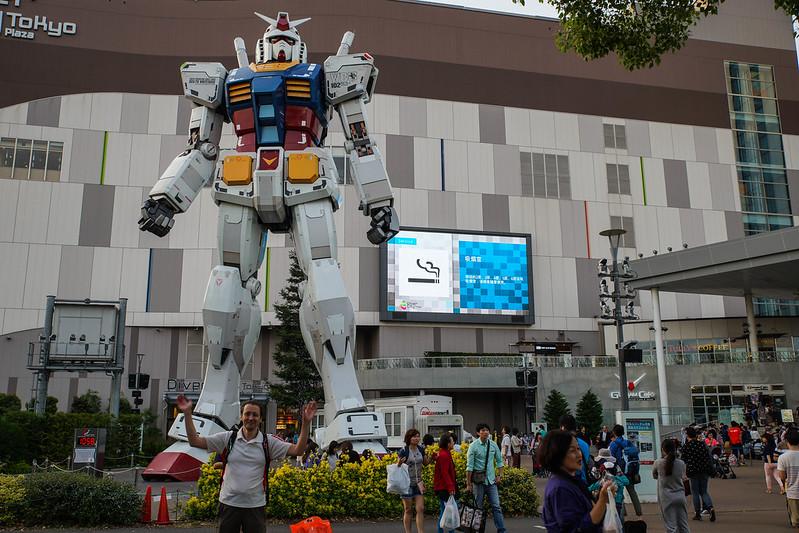 Mechwarrior Timo Odeiba Tokyo Japan