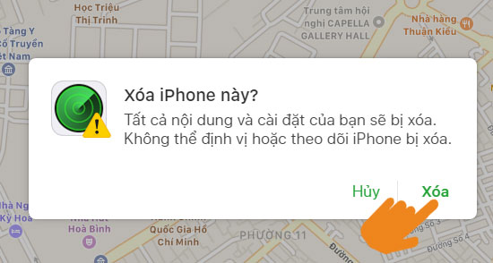 xóa iphone là gì