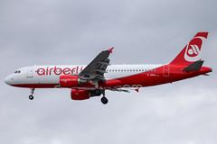 Air Berlin - Airbus A320-214 D-ABHA @ London Heathrow