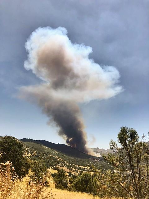Start of fire season in California 2018
