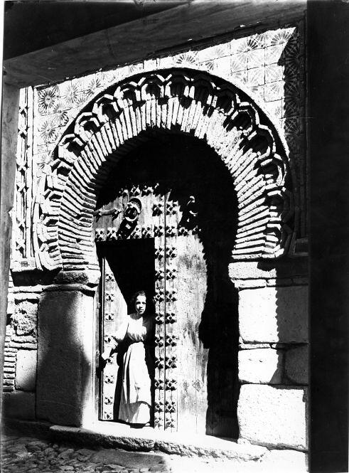 Palacio de Benacazon a comienzos del siglo XX. Fondo Rodríguez, JCCM, signatura Album3-0912