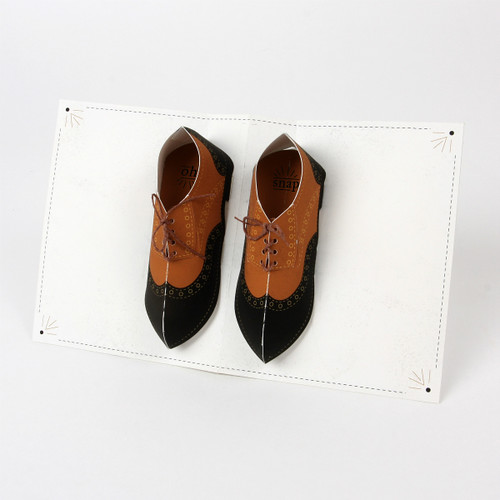 Wingtips Pop-Up Card