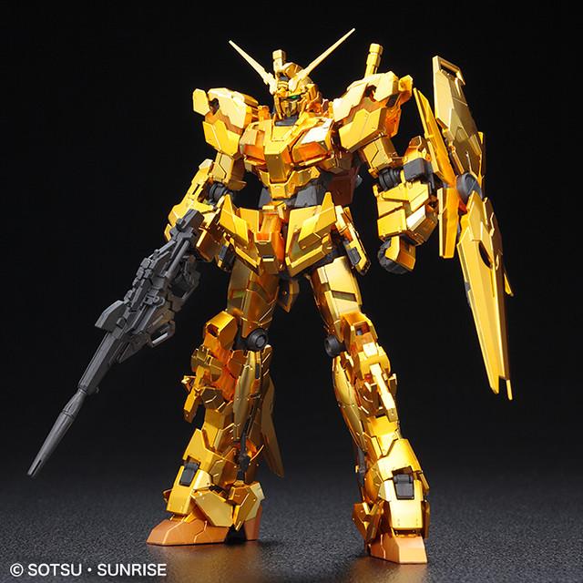 RG 1/144《機動戰士鋼彈UC》RX-0 獨角獸鋼彈[金色鍍膜版] / ユニコーンガンダム [ゴールドコーティング]【GUNDAM BASE限定】