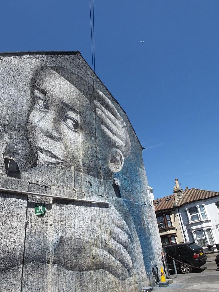 Street art Thornton Heath, London