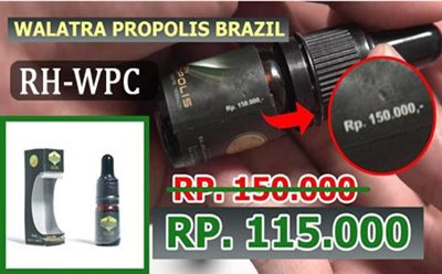 INFORMASI HARGA WALATRA PROPOLIS BRAZIL