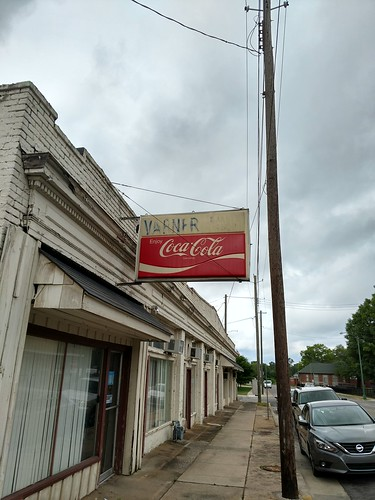 Anniston, Alabama - Varner Barber Shop Sign