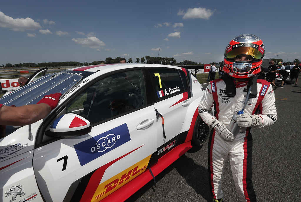 COMTE Aurelien, (fra), Peugeot 308 TCR team DG Sport Competition, portrait during the 2018 FIA WTCR World Touring Car cup race of Slovakia at Slovakia Ring, from july 13 to 15 - Photo Jean Michel Le Meur / DPPI