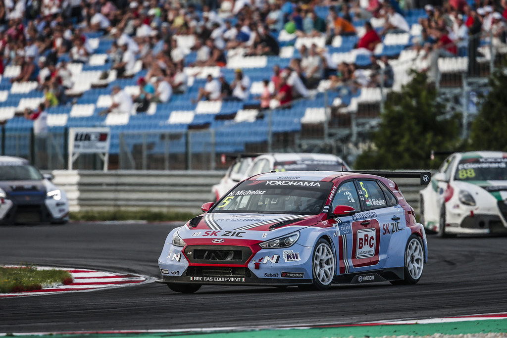05 MICHELISZ Norbert, (hun), Hyundai i30 N TCR team BRC Racing, action during the 2018 FIA WTCR World Touring Car cup race of Slovakia at Slovakia Ring, from july 13 to 15 - Photo Jean Michel Le Meur / DPPI