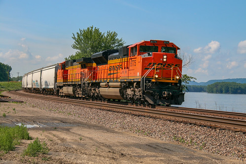 BNSF H-GALGFD at Victory, Wisconsin